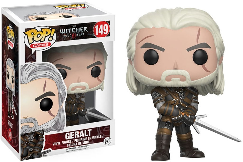 Фигурка Funko POP Games The Witcher: Geralt (9,5 см)Фигурка Funko POP Games The Witcher: Geralt воплощает собой Геральта из отличной ролевой игры «Ведьмак 3: Дикая Охота».<br>