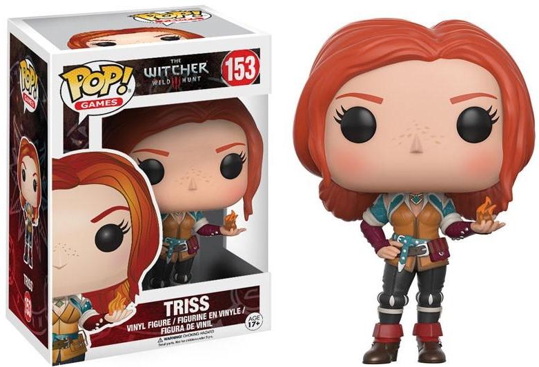 Фигурка Funko POP Games The Witcher: Triss (9,5 см)Фигурка Funko POP Games The Witcher: Triss воплощает собой Трисс из великолепной ролевой игры «Ведьмак 3: Дикая Охота».<br>