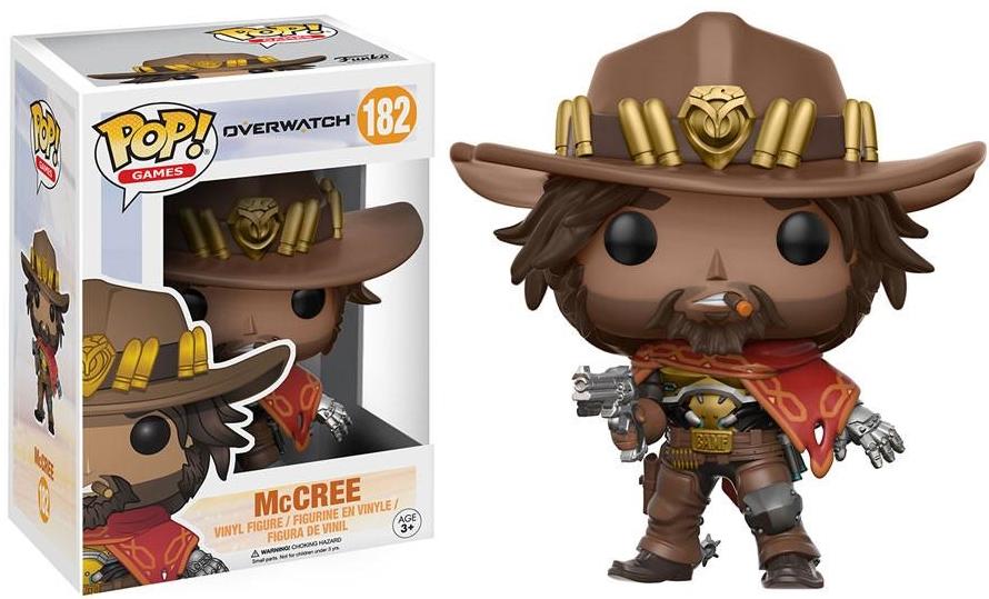 Фигурка Funko POP Games Overwatch: McCree (9,5 см)Фигурка Funko POP Games Overwatch: McCree воплощает собой Маккри из компьютерной игры в жанре MMOFPS «Overwatch».<br>