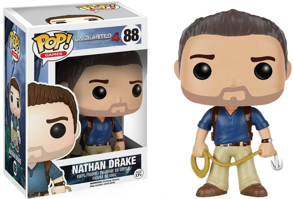 Фигурка Funko POP Games Uncharted: Nathan Drake (9,5 см) uncharted 4 путь вора игра для ps4