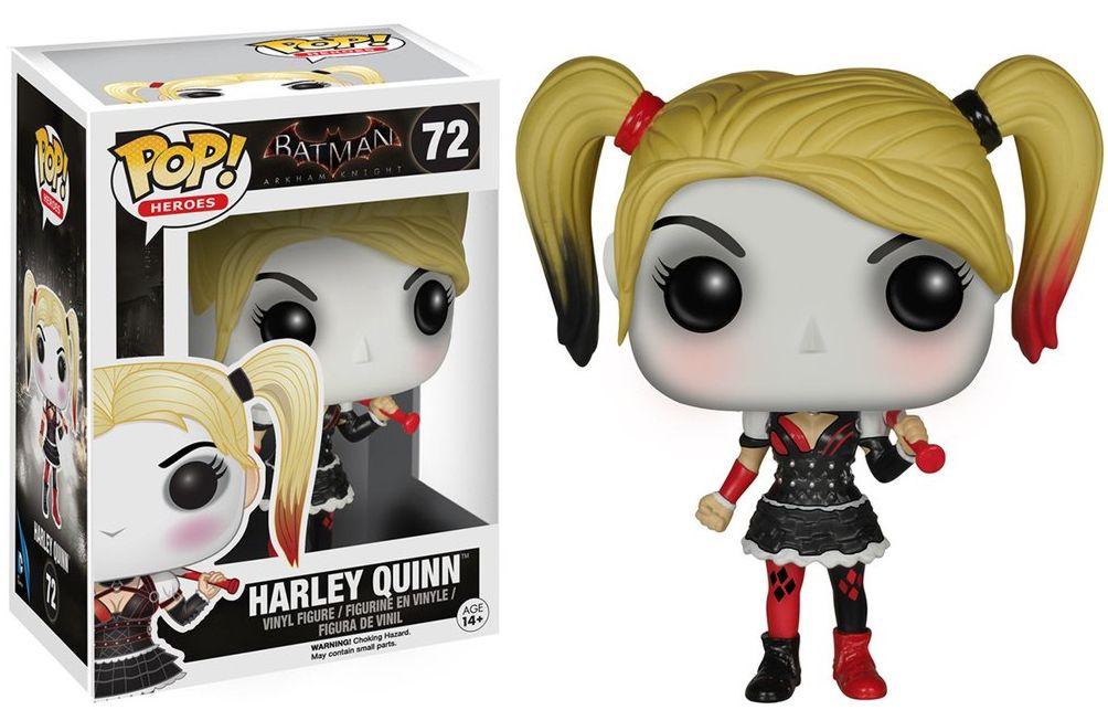Фигурка Funko POP Heroes Arkham Knight: Harley Quinn (9,5 см)Фигурка Funko POP Heroes Arkham Knight: Harley Quinn воплощает собой Харли Квинн (Harley Quinn, настоящее имя Харлин Квинзель) из компьютерной видеоигры «Batman: Arkham Knight» (Бэтмен: Рыцарь Аркхема) и комиксов DC Comics.<br>