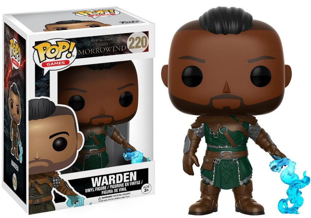 Фигурка Funko POP Games The Elder Scrolls: Warden (9,5 см)Фигурка Funko POP Games The Elder Scrolls: Warden воплощает собой Стража из игры «The Elder Scrolls».<br>