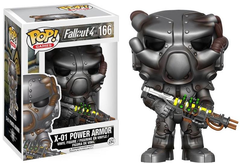 Фигурка Funko POP Games Fallout 4: X-01 Power Armor (9,5 см) брелок funko pop fallout – power armor