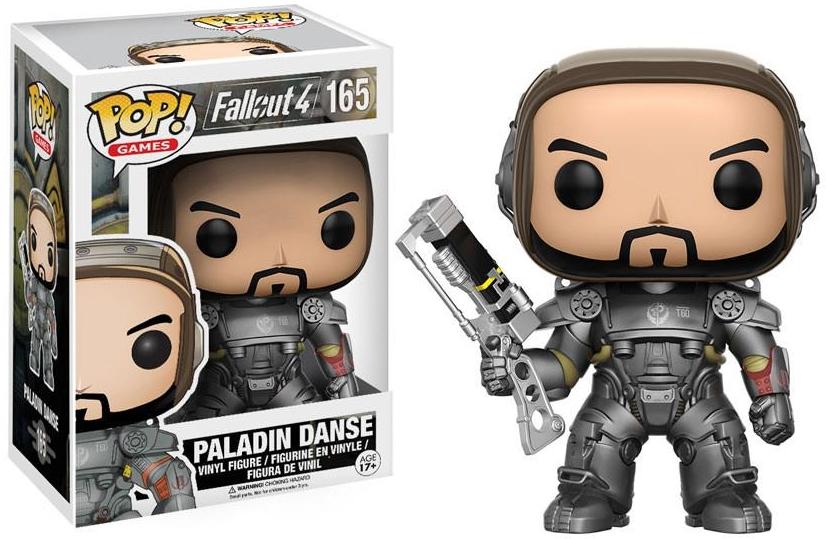 Фигурка Funko POP Games Fallout 4: Paladin Danse (9,5 см) брелок funko pop fallout – power armor
