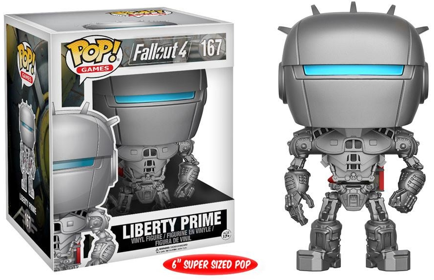 Фигурка Funko POP Games Fallout 4: Liberty Prime (15,24 см)Фигурка Funko POP Games Fallout 4: Liberty Prime воплощает собой Либерти Прайма из ролевой игры «Fallout 4».<br>