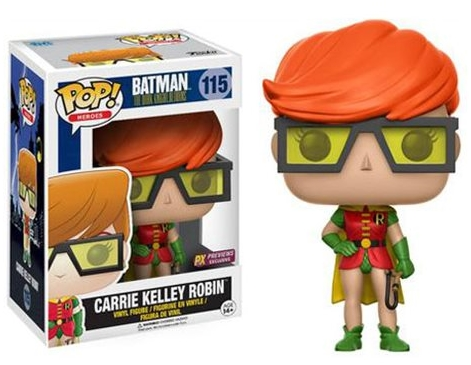 Фигурка Funko Pop Heroes The Dark Knight Returns: Carrie Kelly Robin Exclusive (9,5 см) келли кларксон kelly clarkson piece by piece