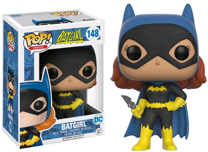 Фигурка Funko Pop Heroes Batgirl: Batgirl (9,5 см)Фигурка Funko POP Heroes Batgirl: Batgirl воплощает собой супергероиню вселенной DC – Бэтгёрл.<br>