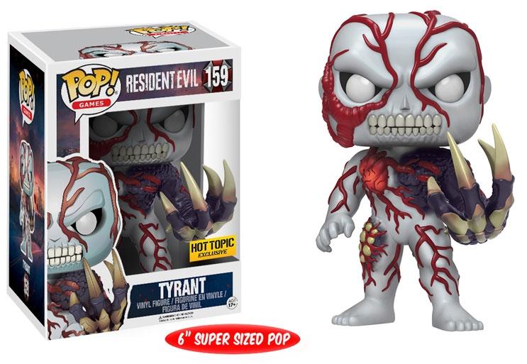 Фигурка Funko POP Games Resident Evil: Tyrant Battle Damaged Exclusive (15,24 см)Фигурка Funko POP Games Resident Evil: Tyrant Battle Damaged Exclusive создана по мотивам серии игр Resident Evil в фирменном стиле POP!<br>
