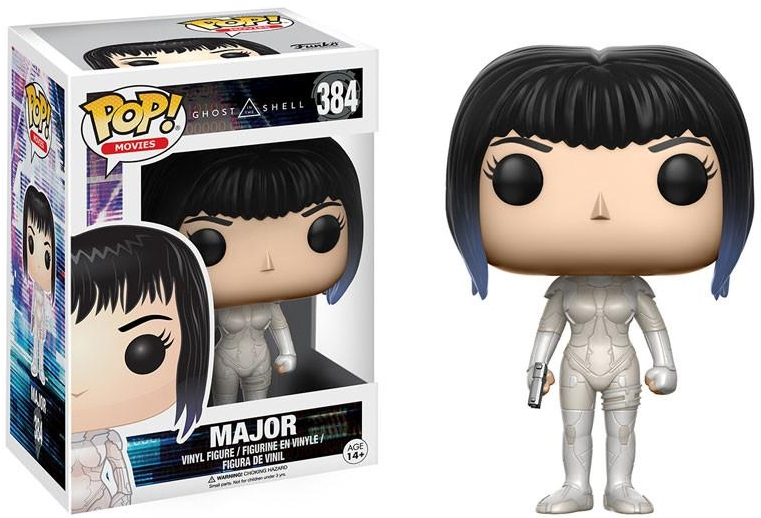 Фигурка Funko POP Movies Ghost in the Shell: Major (9,5 см) laying the ghost
