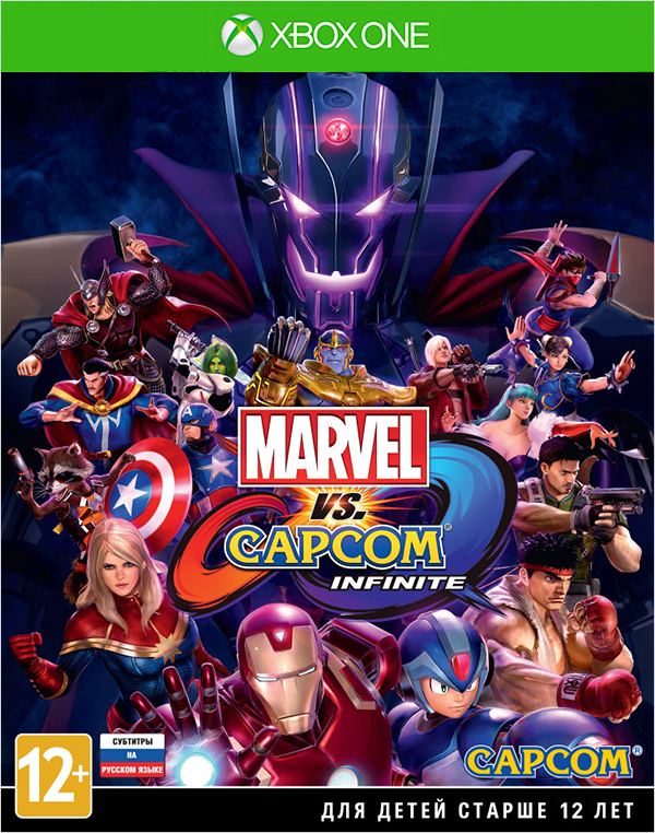 Marvel vs. Capcom: Infinite [Xbox One]Закажите игру Marvel vs Capcom: Infinite до 17:00 часов 15 сентября 2017 года и получите в подарок дополнительные костюмы для персонажей: Злой Рю и Воин Тор.<br>