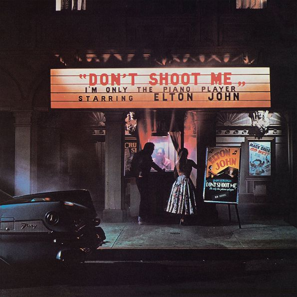 Elton John – Don't Shoot Me I'm Only The Piano Player (LP) two rooms celebrating the songs of elton john