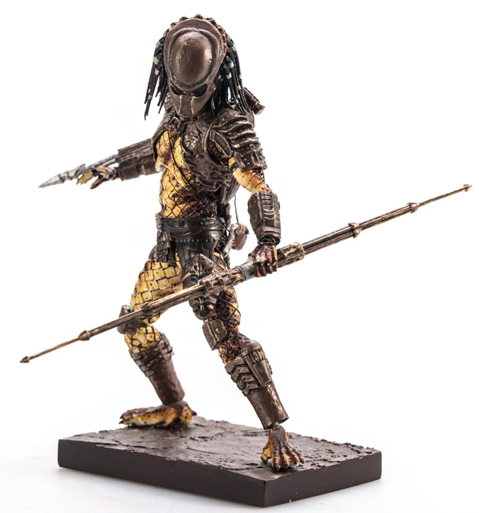 Коллекционная фигурка Predator 2: City Hunter Predator (11,5 см) saintgi avp predator 2 alien colonial marines hunter primevil the pvc movie game cute action figure collection gifts toys neca