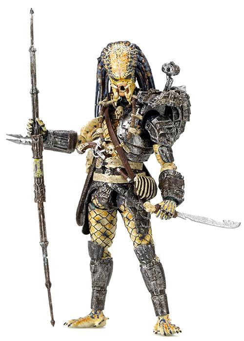 Коллекционная фигурка Predator 2: Elder Predator (11,5 см)Закажите коллекционную фигурку Predator 2: Elder Predator  и получите 150 дополнительных бонусов на вашу карту.<br>