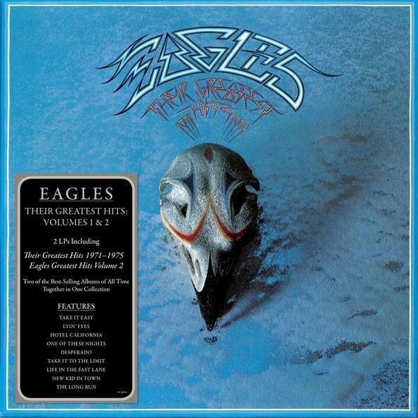 Eagles – Their Greatest Hits. Volumes 1 &amp; 2 (2 LP)Сборник The Greatest Hits. Volumes 1 &amp;amp; 2 на двойном виниле, состоящий из двух компиляций Eagles: Their Greatest Hits (1971–1975) и Eagles Greatest Hits. Volume 2, включающий в себя 20 самых значительных композиций, которые когда-либо были записаны группой The Eagles.<br>