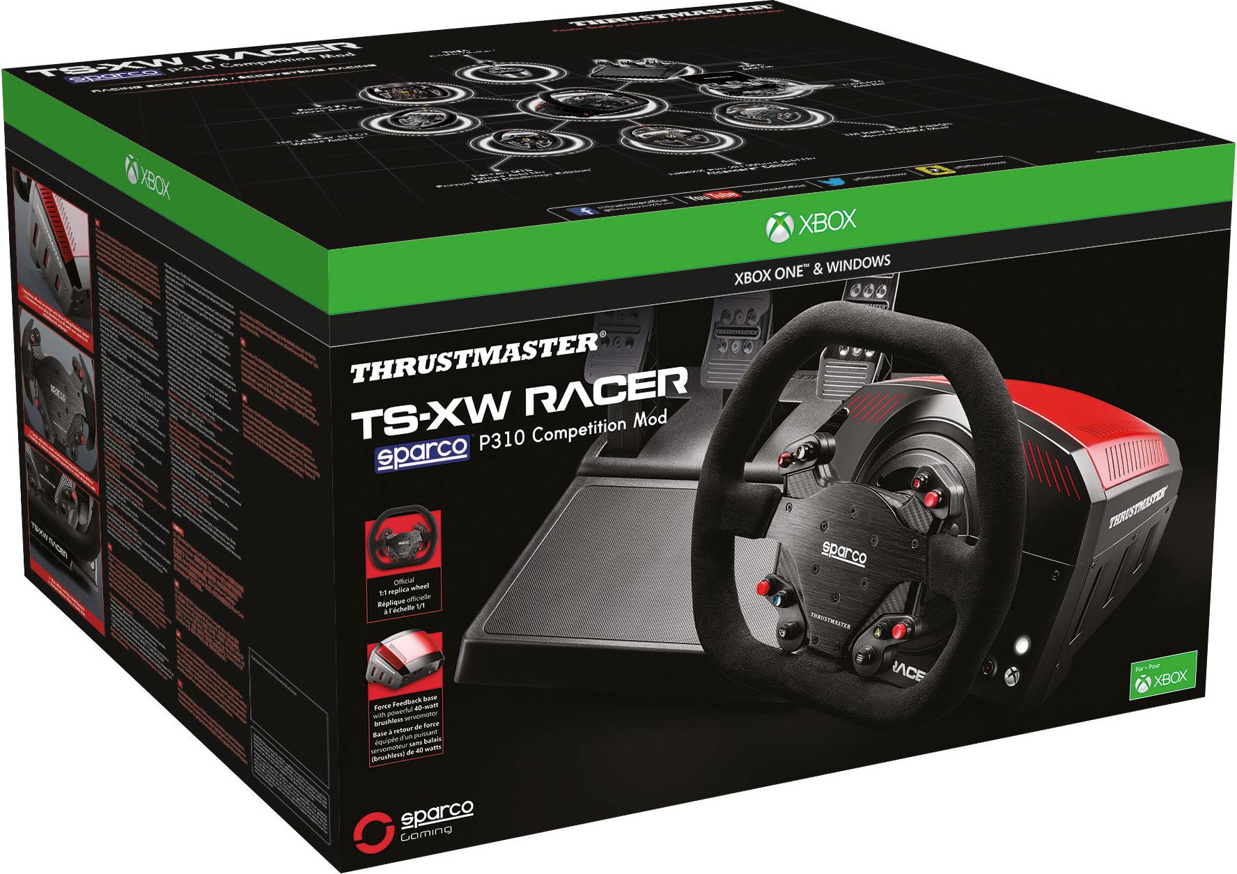 Руль Thrustmaster TS-XW Racer Sparco P310 Competition Mod Xbox One / PCЗакажите руль Thrustmaster TS-XW Racer Sparco P310 Competition Mod и получите 2500 бонусов на вашу карту.<br>