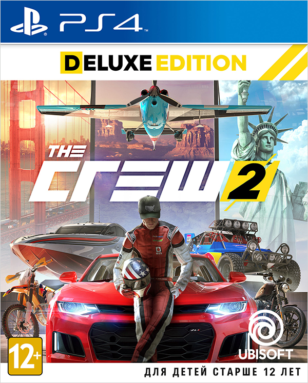 все цены на The Crew 2. Deluxe Edition [PS4] онлайн