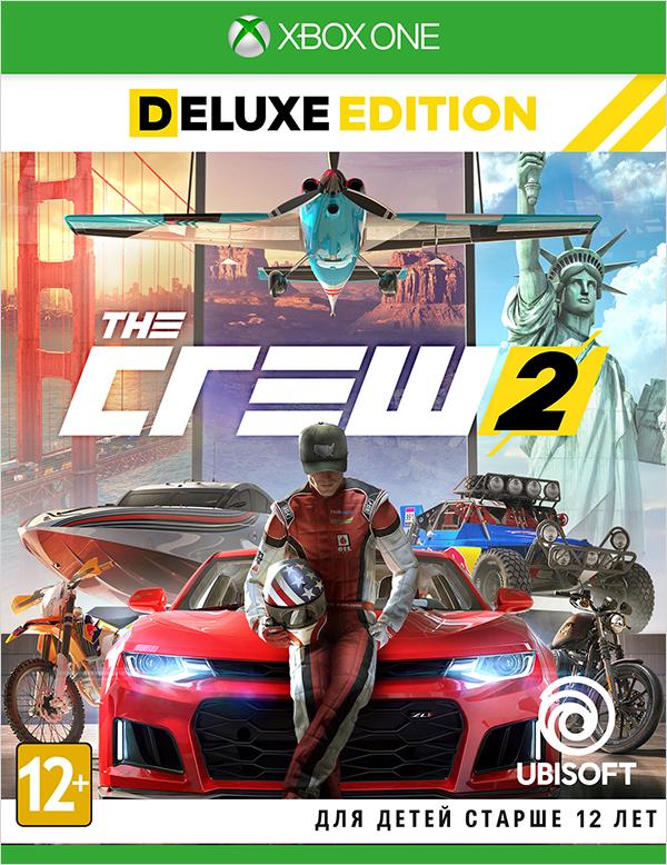 The Crew 2. Deluxe Edition [Xbox One]Закажите игру The Crew 2 и получите в подарок ранний доступ к набору The Crew 2 Legendary Motors, включающему гоночную версию автомобиля Mercedes-AMG C 63 2016 и мотоцикл Harley-Davidson Iron 883TM 2017.<br>