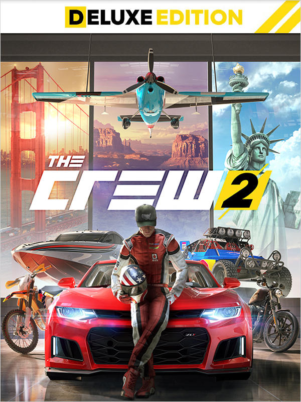 The Crew 2. Deluxe Edition [PC, Цифровая версия] (Цифровая версия) hi fi стойка solid tech radius solo 4 black oak