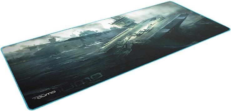 Коврик для мыши Qumo Dead Navy для PCИгровой коврик Qumo Dragon War Dead Navy имеет универсальный размер, который подойдет многим геймерам! Какой бы сенсор вы не использовали, поверхность коврика создана для максимальной точности и быстроты скольжения мыши. Теперь вы сможете управлять мышью с точностью до пикселя! Края игровой поверхности Qumo Dragon War Dead Navy сделаны в угоду долговечности. Благодаря чему, тканевая подложка не будет со временем отслаиваться от резиновой подошвы.<br>