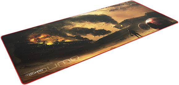 Коврик для мыши Qumo Iron Sky для PCИгровой коврик Qumo Iron Sky имеет универсальный размер, который подойдет многим геймерам! Какой бы сенсор вы не использовали, поверхность коврика создана для максимальной точности и быстроты скольжения мыши. Теперь вы сможете управлять мышью с точностью до пикселя! Края игровой поверхности Qumo Iron Sky сделаны в угоду долговечности. Благодаря чему, тканевая подложка не будет со временем отслаиваться от резиновой подошвы.<br>