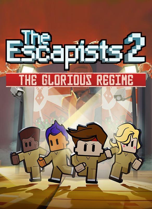 The Escapists 2. Glorious Regime Prison. Дополнение (Цифровая версия) the ghost prison