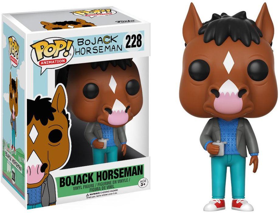 Фигурка Funko POP Animation BoJack Horseman: BoJack (9,5 см)Фигурка BoJack Horseman: BoJack воплощает собой главного персонажа американского анимационного трагикомедийного сериала о павшей звезде шоу-бизнеса, антропоморфной лошади БоДжеке.<br>