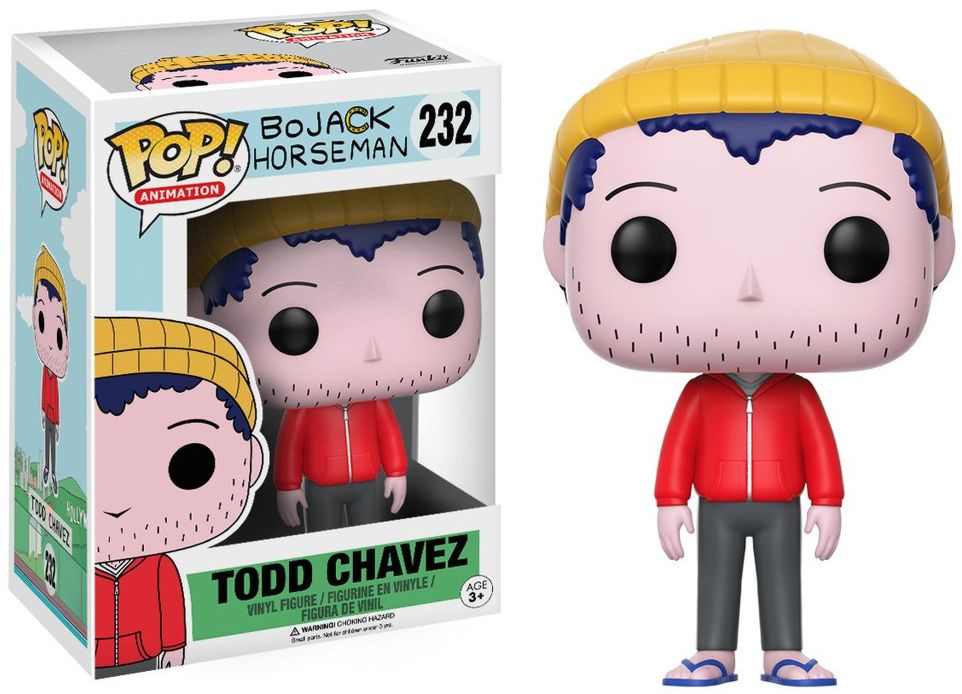 Фигурка Funko POP Animation BoJack Horseman: Todd (9,5 см) фигурка funko pop animation one piece portgas d ace 9 5 см