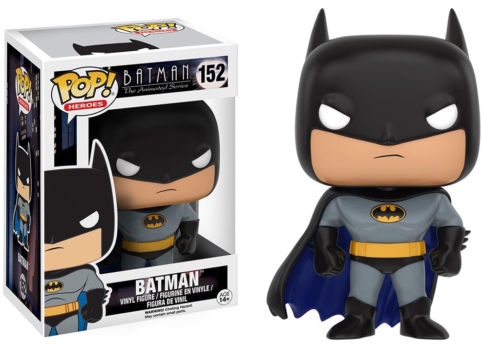 Фигурка Funko POP Heroes DC: Batman Animated – BTAS Batman (9,5 см)Фигурка Batman Animated – BTAS Batman воплощает собой одного из персонажей комиксов DC Batman Animated – Бэтмена.<br>