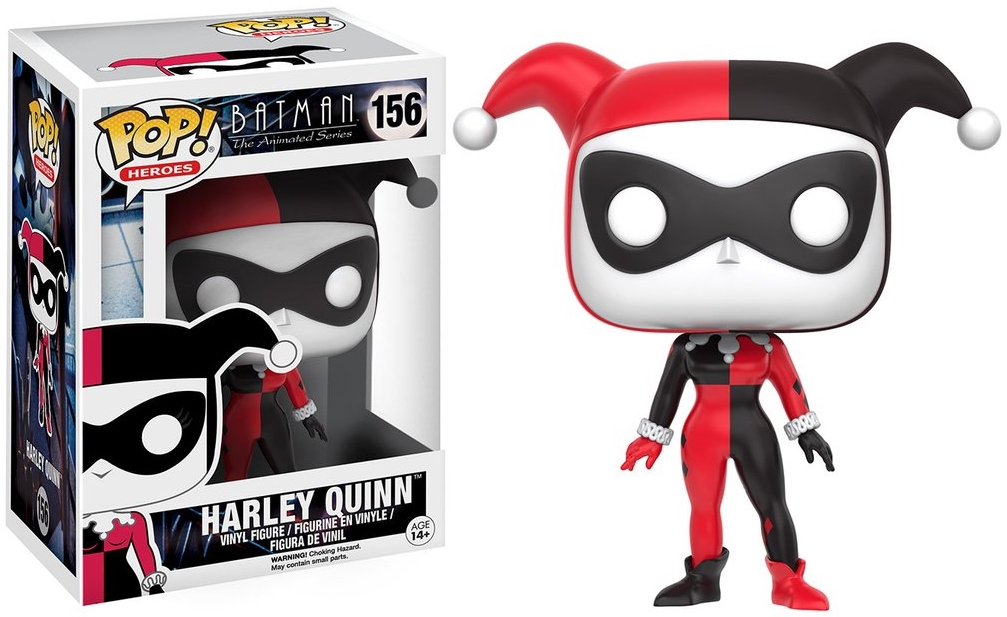 Фигурка Funko POP Heroes DC: Batman Animated – BTAS Harley Quinn (9,5 см)Фигурка Batman Animated – BTAS Harley Quinn воплощает собой одного из персонажей комиксов DC Batman Animated – Харли Квинн.<br>
