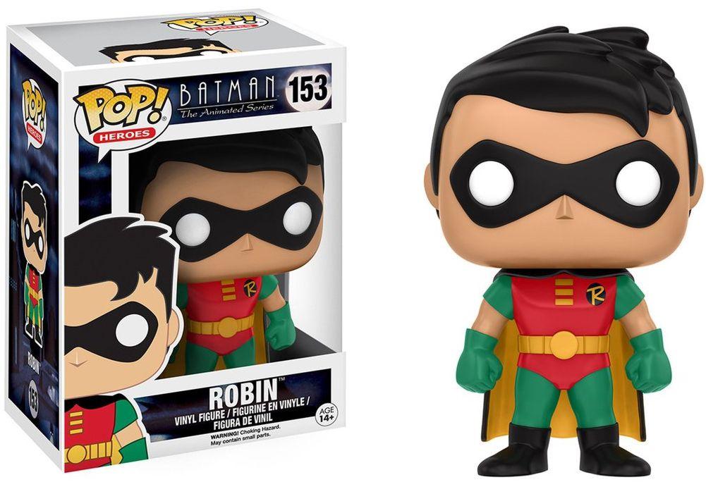 Фигурка Funko POP Heroes DC: Batman Animated – BTAS Robin (9,5 см)Фигурка Batman Animated – BTAS Robin воплощает собой одного из персонажей комиксов DC Batman Animated – Робина.<br>