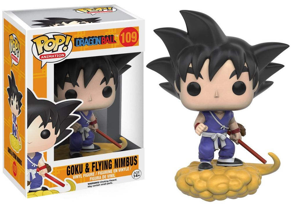Фигурка Funko POP Animation Dragonball Z: Goku & Nimbus (9,5 см) фигурка funko pop animation one piece portgas d ace 9 5 см