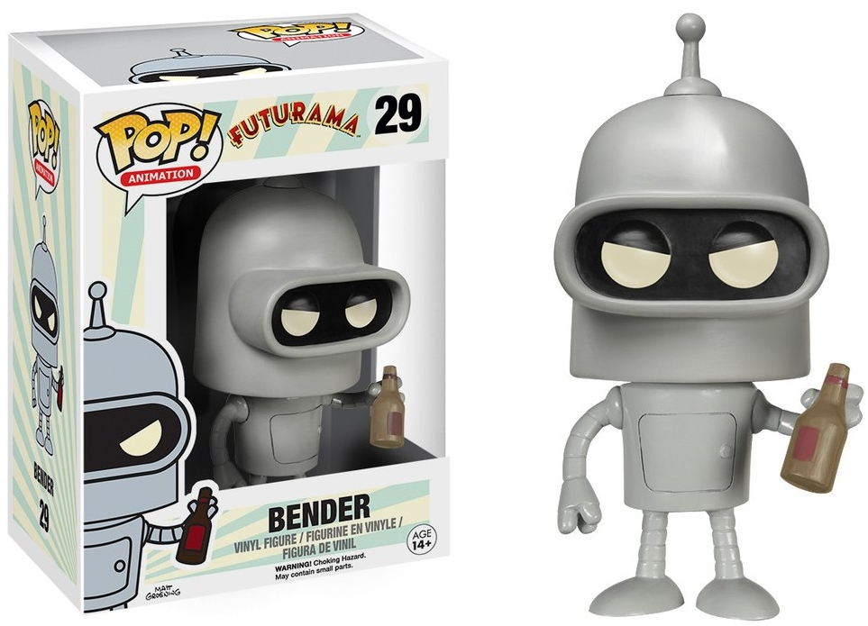 Фигурка Funko POP Animation Futurama: Bender (9,5 см) фигурка funko pop animation futurama leela 9 5 см