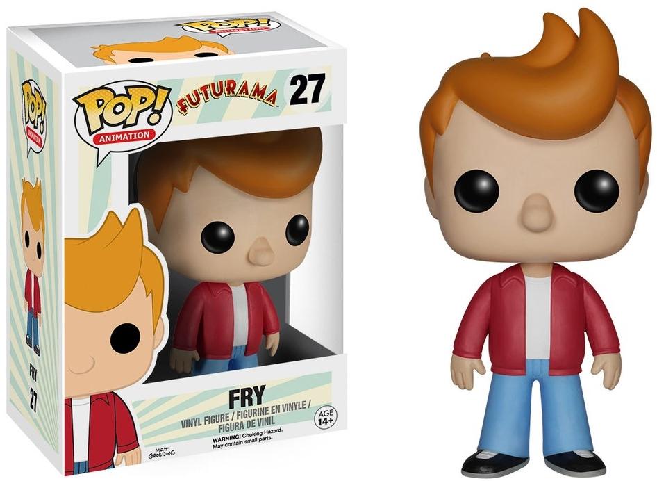 Фигурка Funko POP Animation Futurama: Fry (9,5 см)Фигурка Futurama: Fry воплощает собой Филипа Джея Фрая из мультсериала «Футурама».<br>