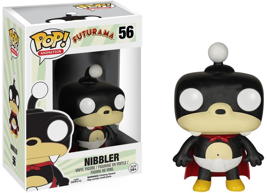 Фигурка Funko POP Animation Futurama: Nibbler (9,5 см)Фигурка Futurama: Nibbler воплощает собой Зубастика из мультсериала «Футурама».<br>