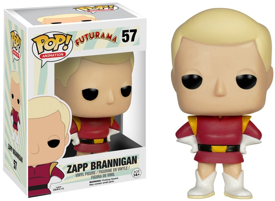 Фигурка Funko POP Animation Futurama: Zapp Brannigan (9,5 см)Фигурка Futurama: Zapp Brannigan воплощает собой Заппа Браннигана из мультсериала «Футурама».<br>