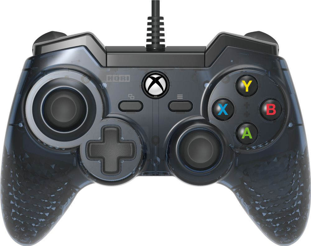 Проводной геймпад Hori HORIPAD Rro для Xbox One / PCHORIPAD Rro продолжает линейку высококачественных продуктов компании Hori. Геймпад обладает улучшенными аналоговыми стиками, обратной связью, аналоговыми импульсными триггерами, отзывчивыми кнопками, и одним из лучших D-Pad'ов на рынке.<br>