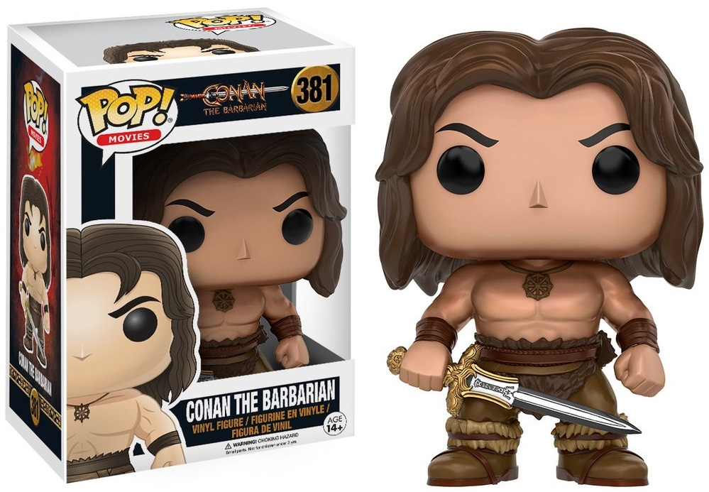 Фигурка Funko POP Movies: Conan the Barbarian – Conan (9,5 см) фигурка funko pop movies kingsman the secret service – gazelle 9 5 см