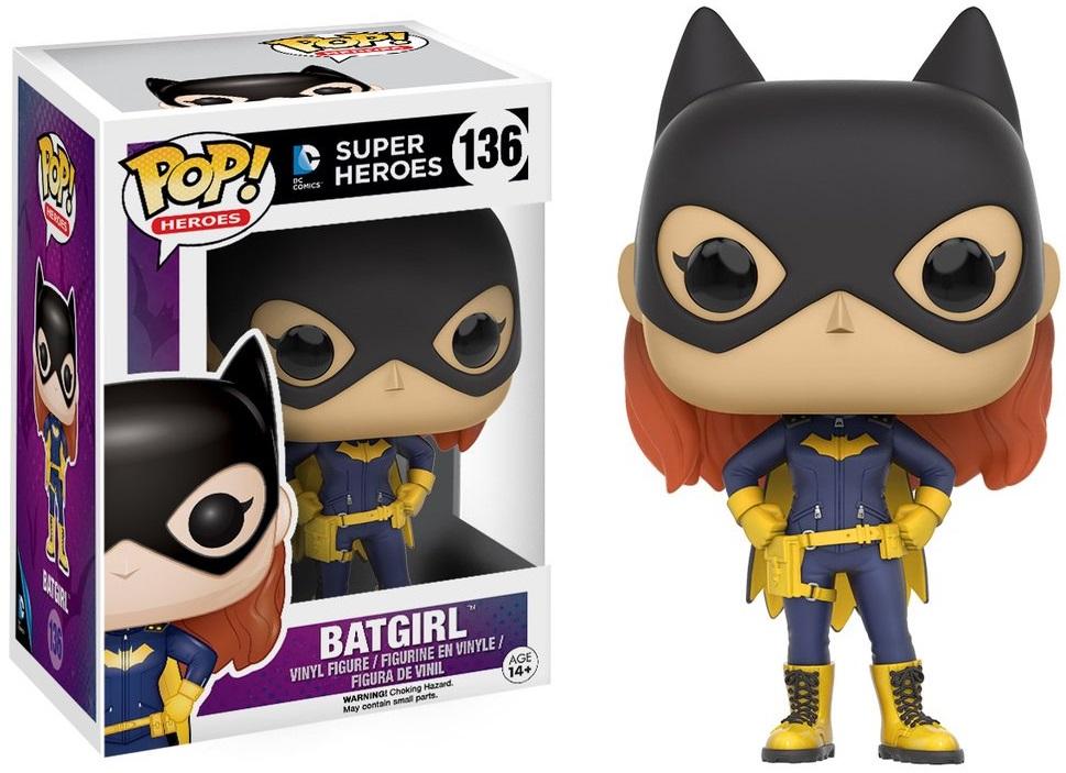 Фигурка Funko POP Heroes DC: Batgirl 2016 (9,5 см) n 2015 new spot american original funko pop dc comics hero knell deathstroke limited doll