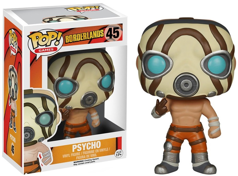 Фигурка Funko POP Games Borderlands: Psycho (9,5 см)Фигурка Funko POP Games Borderlands: Psycho воплощает собой Психа (Крига) из серии игр Borderlands.<br>