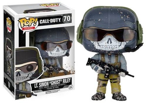 Фигурка Funko POP Games Call of Duty: Lt. Simon 'Ghost' Riley (9,5 см)