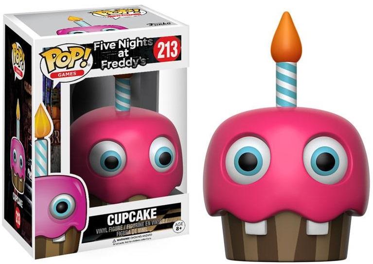 Фигурка Funko POP Games Five Nights at Freddys: Cupcake (9,5 см)Фигурка Funko POP Games Five Nights at Freddys: Cupcake воплощает собой одного из персонажей игры «Пять ночей с Фредди» – Кекс.<br>