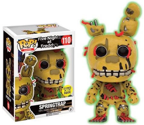 Фигурка Funko POP Games Five Nights at Freddys: Springtrap GITD (Exc) (9,5 см)Фигурка Funko POP Games Five Nights at Freddys: Springtrap GITD (Exc) воплощает собой одного из персонажей игры «Пять ночей с Фредди» – Спрингтрап.<br>