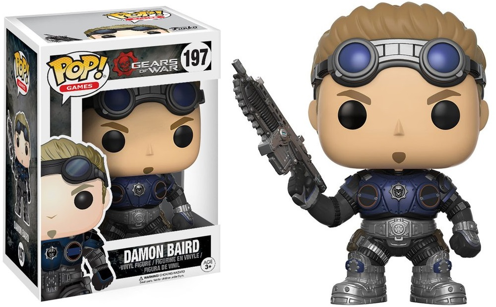 Фигурка Funko POP Games Gears of War: Damon Baird (Armored) (9,5 см) фигурка funko pop games gears of war oscar diaz