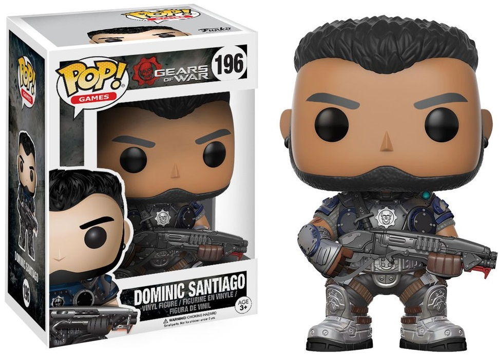 Фигурка Funko POP Games Gears of War: Dominic Santiago (9,5 см) фигурка gears of war 4 jd fenix 17 см