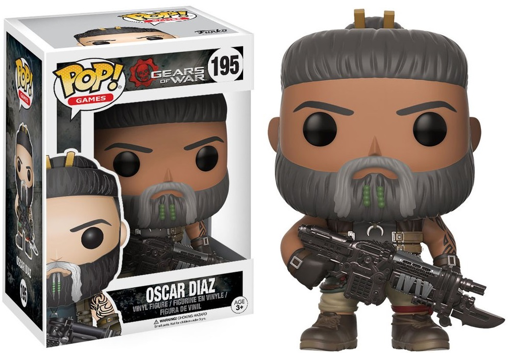Фигурка Funko POP Games Gears of War: Oscar Diaz (9,5 см) майка классическая printio gears of war 2