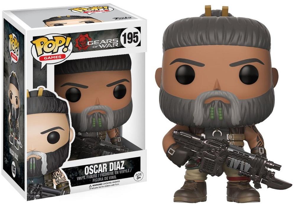 Фигурка Funko POP Games Gears of War: Oscar Diaz (9,5 см)Фигурка Funko POP Games Gears of War: Oscar Diaz воплощает собой одного из персонажей игры Gears of War 3, вышедшей на Xbox 360, – Оскара Диаза.<br>