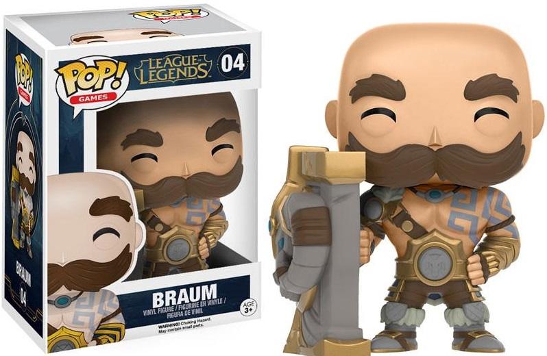 Фигурка Funko POP Games League of Legends: Braum (9,5 см)Фигурка Funko POP Games League of Legends: Braum воплощает собой одного из персонажей игры «League of Legends» – Браума.<br>