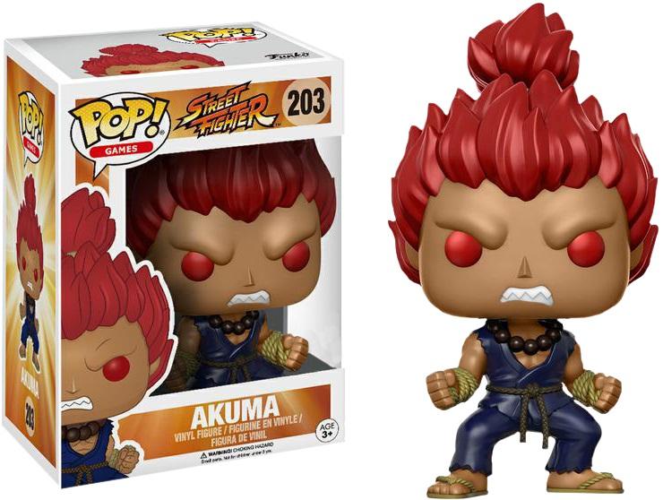 Фигурка Funko POP Games Street Fighter: Akuma (Exc) (9,5 см)Фигурка Funko POP Games Street Fighter: Akuma (Exc) воплощает собой одного из персонажей игры «Street Fighter» – Акуму.<br>