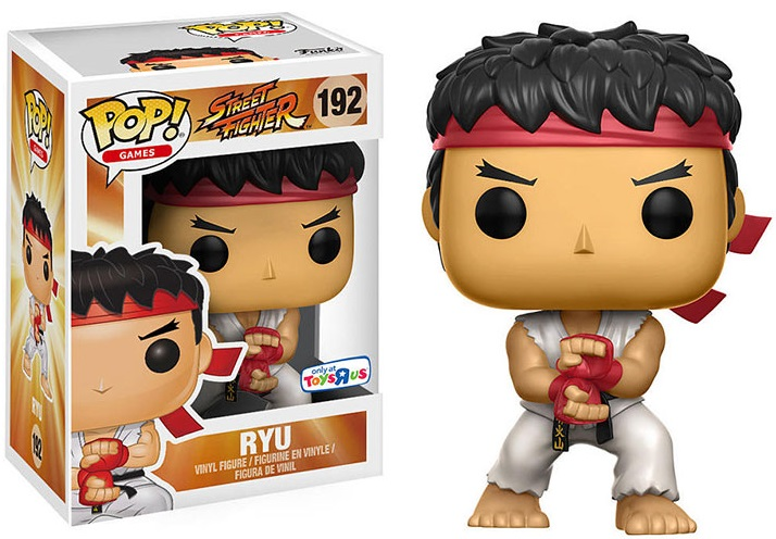 Фигурка Funko POP Games Street Fighter: Ryu Special Attack (Exc) (9,5 см)Фигурка Funko POP Games Street Fighter: Ryu Special Attack (Exc) воплощает собой одного из персонажей игры «Street Fighter» – Рю.<br>
