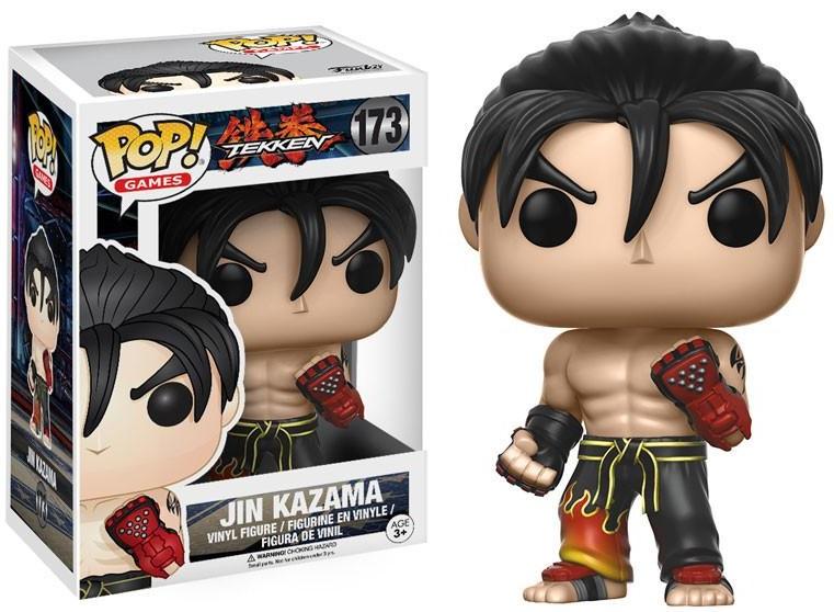 Фигурка Funko POP Games Tekken: Jin Kazama (9,5 см)Фигурка Funko POP Games Tekken: Jin Kazama воплощает собой Дзина Кадзаму из компьютерной видеоигры «Tekken».<br>